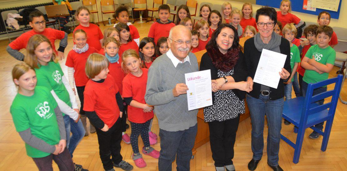 Kooperation mit der Silcherschule offiziell besiegelt