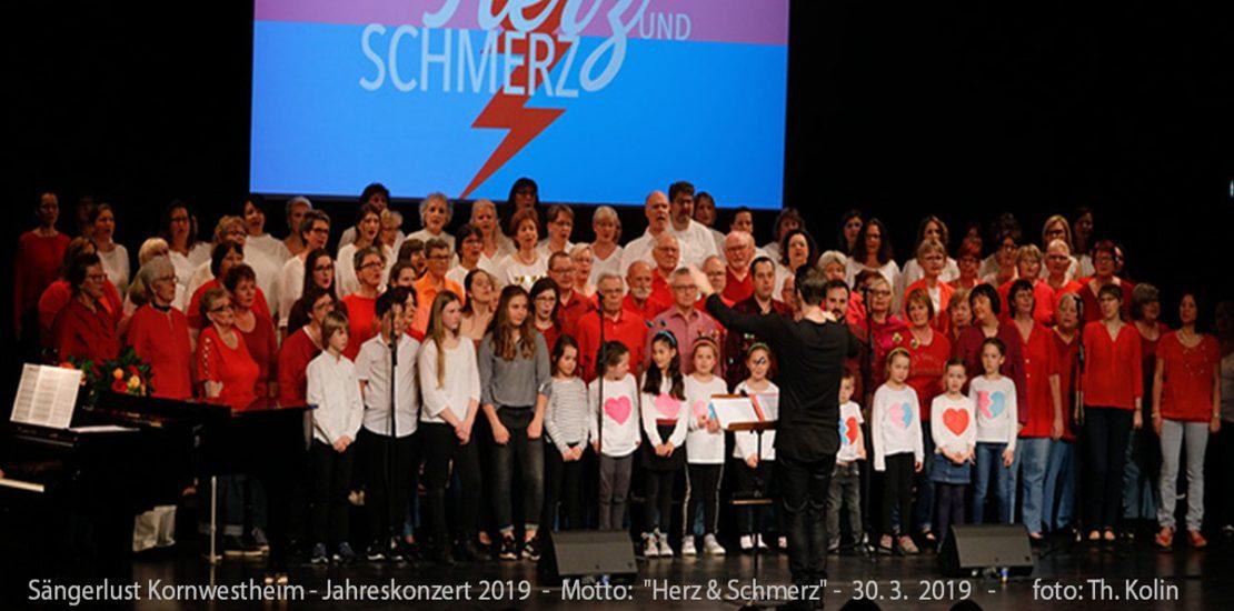 Jahreskonzert 2019: Herz und Schmerz